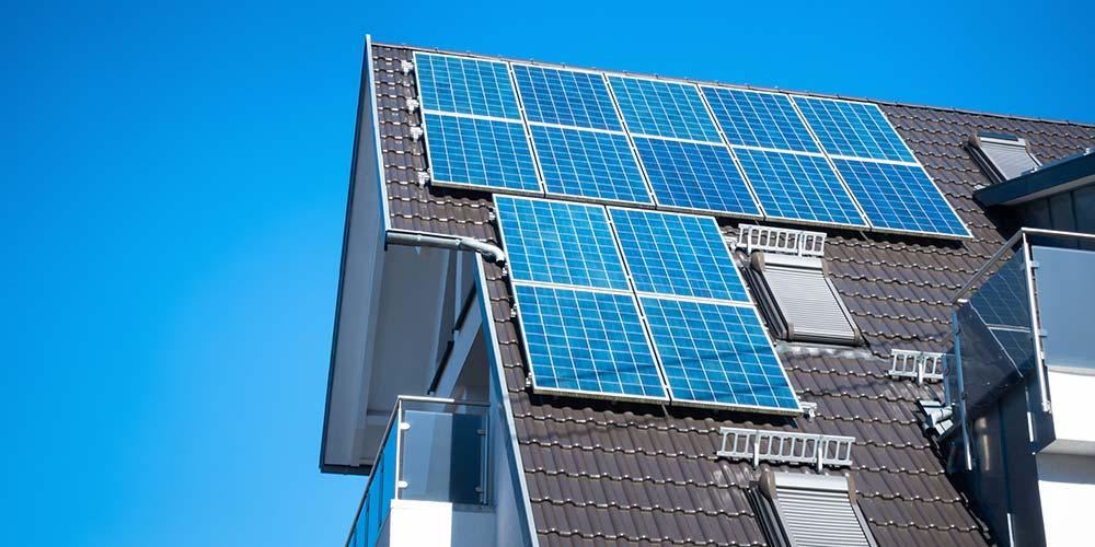 Blog - Solar Panels on Residential Home